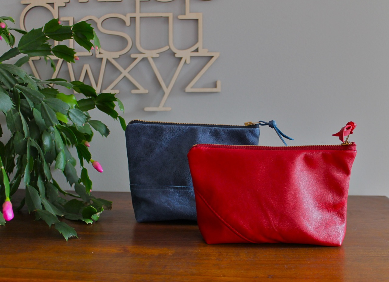 a pair of pouches