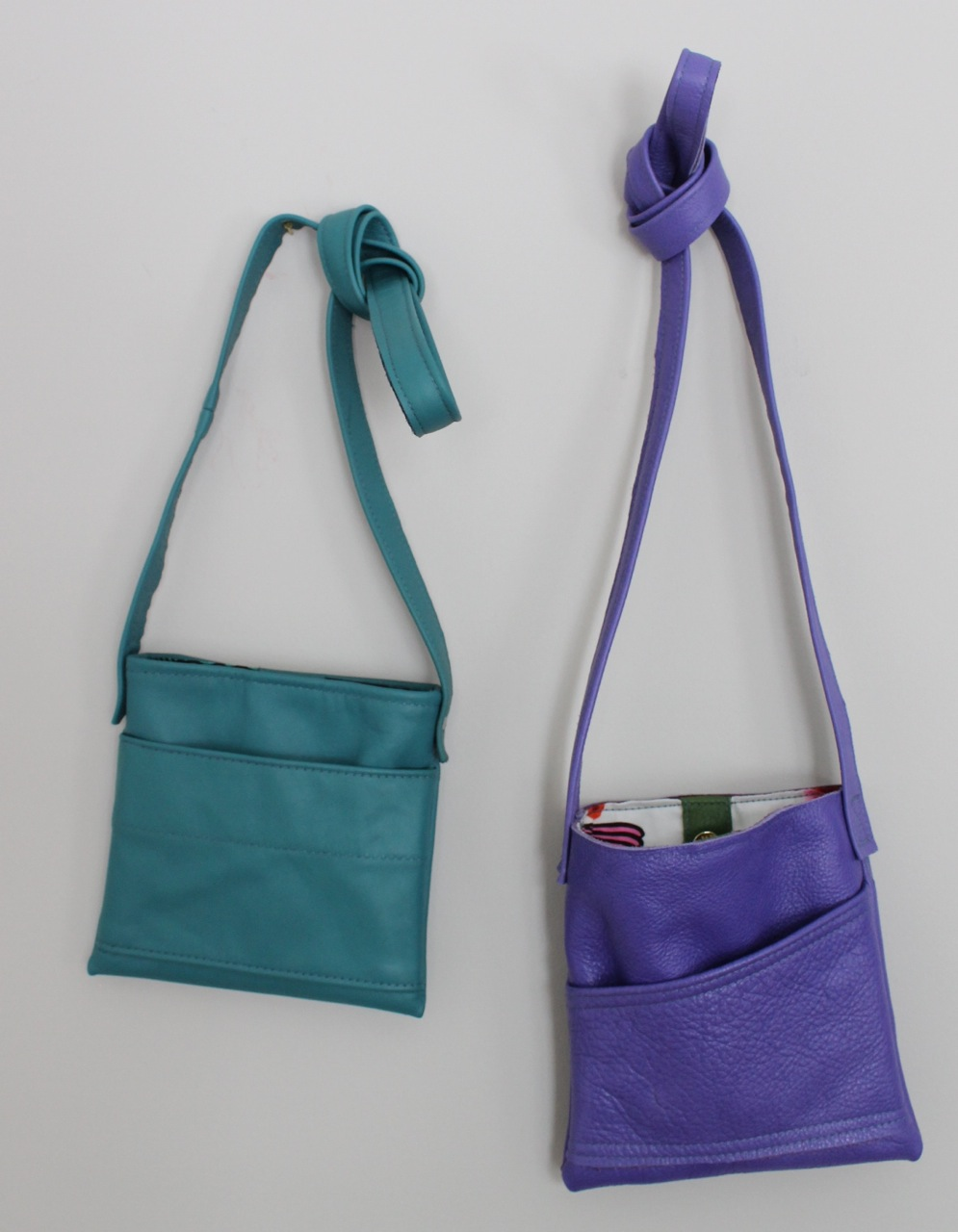 Jan in turquoise and purple