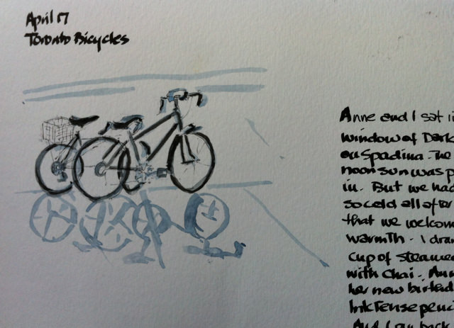 bikes TO april 17