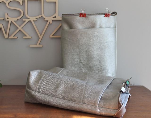silver pebble bag 1