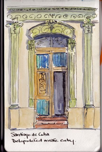 sk santiago doorway