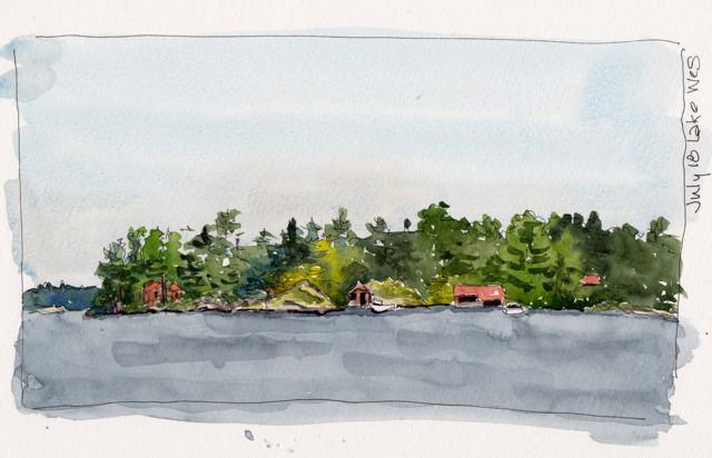 bear island lake wes