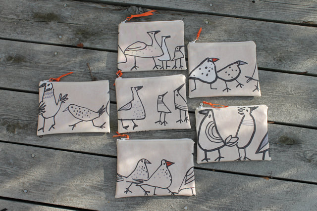 wonky bird pouches side 1