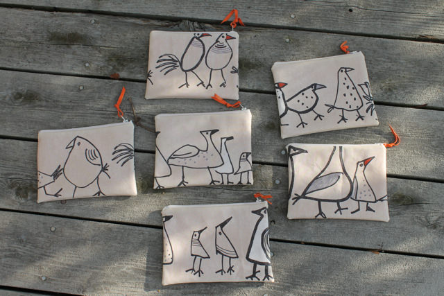 wonky bird pouches side 2