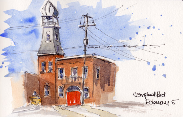 campbellford fire station
