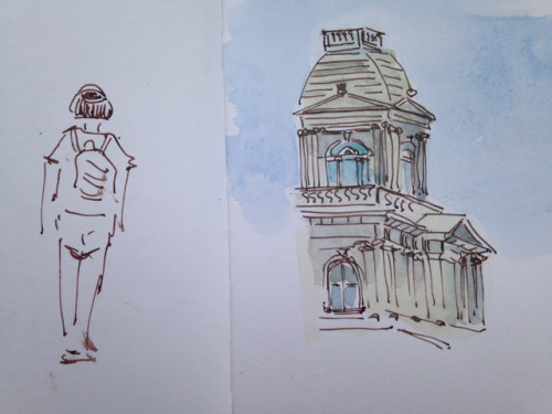 custom house sketch