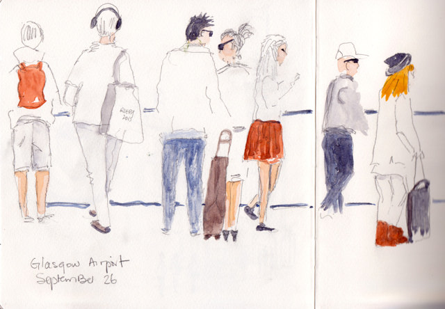 pencil-glasgow-airport