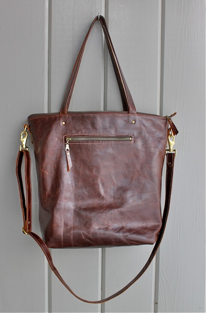 Grosvenor tote in brown