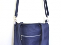 blueberry travel tote