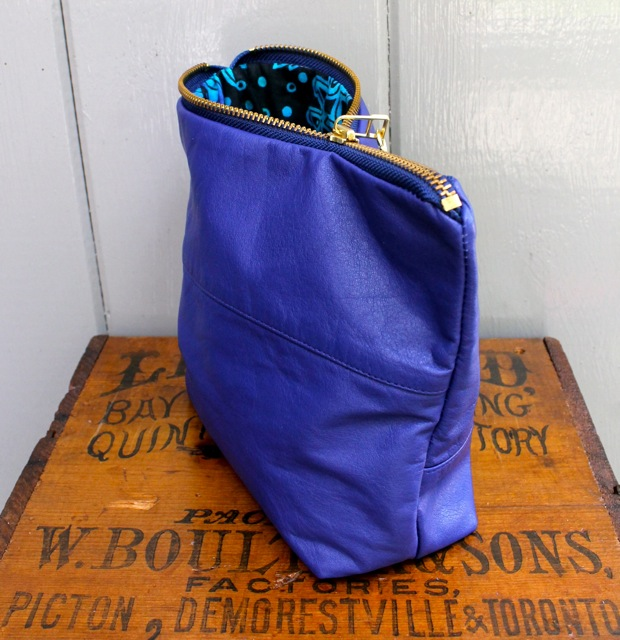 cobalt pouch side