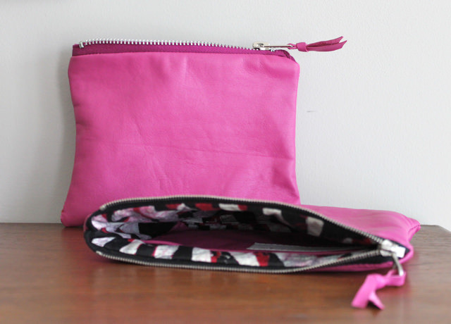 pink pouches
