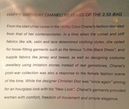 chanel text