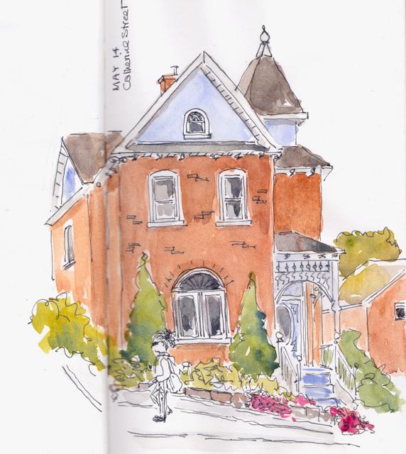 catherine street house 1