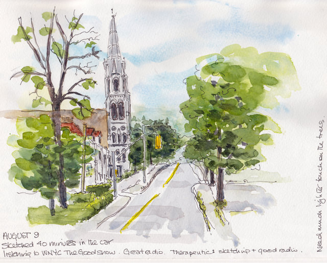 church street facing north