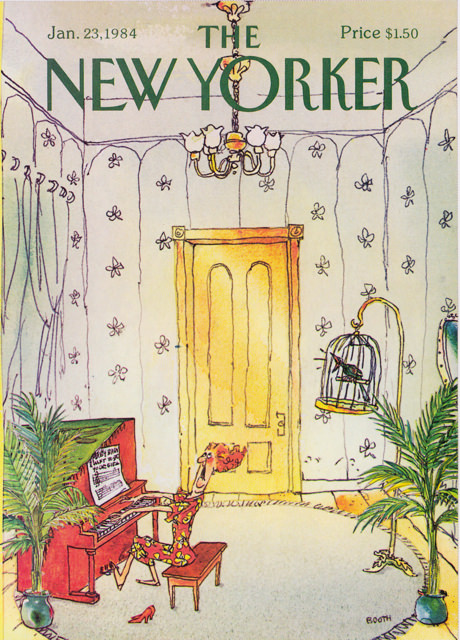 new yorker cover jan 23 1984