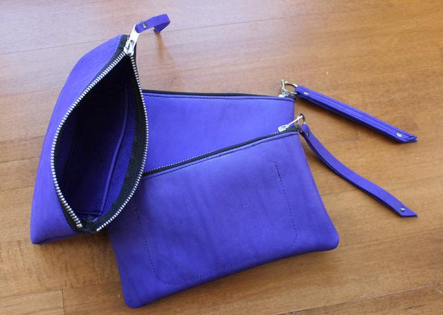 cobalt nubuck pouches 2