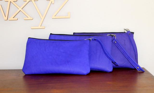 cobalt nubuck pouches 3