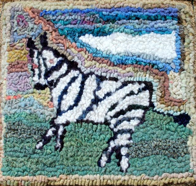 zebra hooking