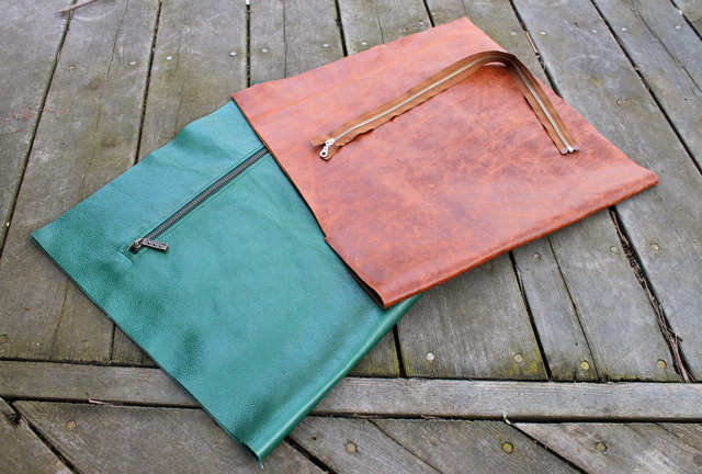 green:cognac bags start